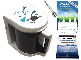 Jonizator wody aquator vivo silver poj. 3 l, najnowszy model z elektrodą srebrną + 3 gratisy  oferta promocyjna