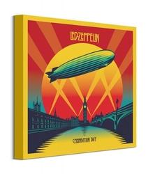 Led zeppelin celebration day - obraz na płótnie