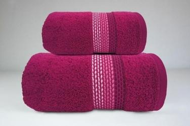 OMBRE FUKSJA ręcznik bawełniany FROTEX - fuksja