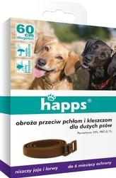 Happs, obroża przeciw pchłom i kleszczom dla dużych psów, 1 sztuka