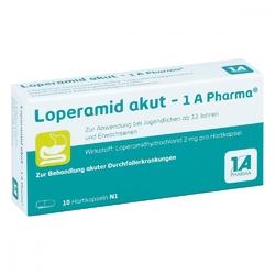 Loperamid akut 1a pharma kapsułki