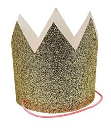 Meri meri mini korony złote