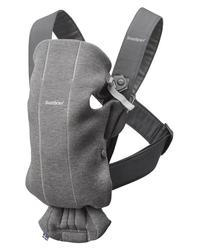 Babybjorn mini 3d jersey – nosidełko, ciemny szary - ciemny szary 3d jersey