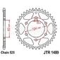 Zębatka tylna stalowa jt 1489-39, 39z, rozmiar 525 2301938 kawasaki z 1000, zx-7r 750