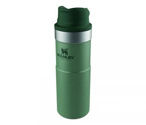 Kubek termiczny stanley 470 ml trigger action travel mug zielony