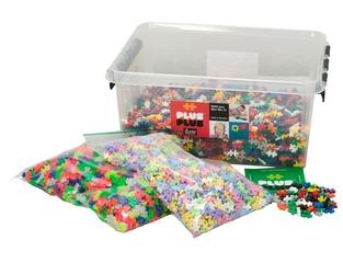 Klocki konstrukcyjne plus plus mini - 6000 szt. - kolory mix
