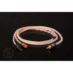 Forza audioworks claire hpc mk2 słuchawki: denon d600d7100, wtyk: ibasso balanced, długość: 2,5 m