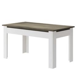 Stół rozkładany Provi 140-180x80 cm modrzew jasnyciemny