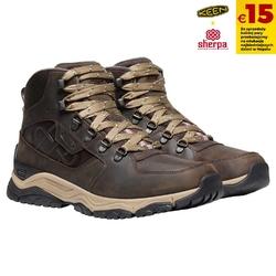 Buty trekkingowe męskie keen innate leather mid wp x sherpa