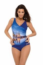 Marko daniella m-555 blueberry kostium kąpielowy