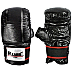 Rękawice treningowe allright skóra czarne