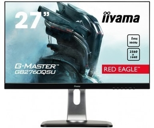 Iiyama monitor 27 gb2760qsu-b1 tn,wqhd,hdmi,dp,usb,144hz,ete.