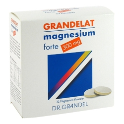 Magnesium grandel 300 mg tabletki do żucia