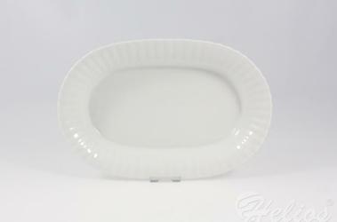 Salaterka owalna 28 cm - C000 IWONA Biała