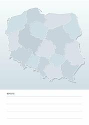 suchościeralna mapa Polski tablica 192