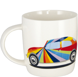 Kubek porcelanowy z uchem VW Beetle Stripes BR-BETA02