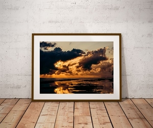 Nusa penida sunrise - plakat premium wymiar do wyboru: 60x40 cm