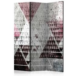 Parawan 3-częściowy - trójkąty room dividers
