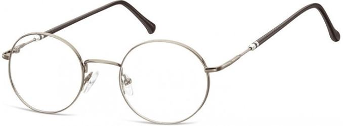 Lenonki okrągłe okulary oprawki optyczne 926b grafitowe