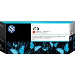 Hp 745 300-ml designjet chromatic red ink cartridge