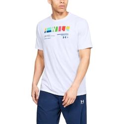 Koszulka męska under armour i will multi - biały