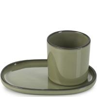 Spodek do filiżanki do espresso caractere revol kardamon rv-652769-4
