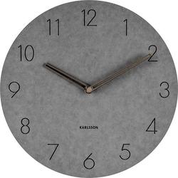 Zegar ścienny dura szary
