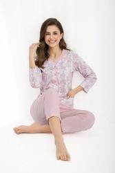 Luna 458 plus piżama damska