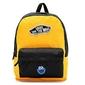 Plecak szkolny vans realm - vn0a3ui6tvt yellow zółty - custom ciasteczkowy potwór