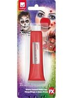 Farba krem do twarzy i ciała 28ml czerwona - tuba