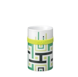 Kubek ring mug green geometric 250 ml