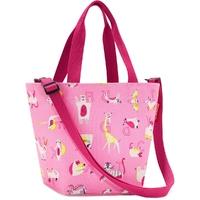 Torba na zakupy dla dzieci reisenthel shopper xs kids abc różowa rik3066