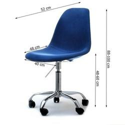 Krzesło obrotowe tunis lll welur