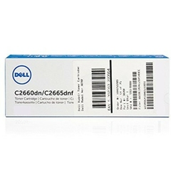 Toner Oryginalny Dell C26602665 593-BBBN Błękitny - DARMOWA DOSTAWA w 24h