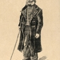 Orphan man, vincent van gogh - plakat wymiar do wyboru: 40x50 cm