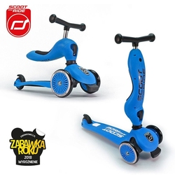 Scootandride highwaykick 2w1 jeździk i hulajnoga 1-5 lat blue - blue