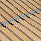 Łóżko tapicerowane avres 160x200 z pojemnikiem szare