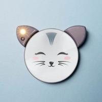 Podświetlane lusterko kotek