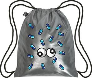 Plecak LOQI Metallic Matt Pop Silver