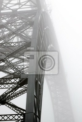 Fototapeta foggy bridge