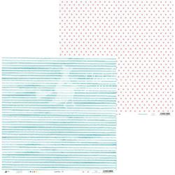 Papier do scrapbookingu Summertime 30,5x30,5 cm 04 - 04  Produkt Polski