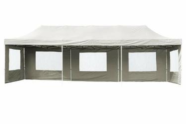 Pawilon handlowy 3x9 m, biały namiot ogrodowy
