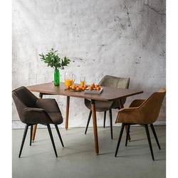 Krzesło lord - jasny brązowy
