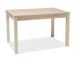 Stół lidia 120-160x80 cm dąb sonoma