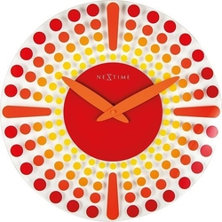 Zegar ścienny dreamtime czerwony
