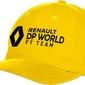 Czapka renault dp world f1 2020 żółta - żółty