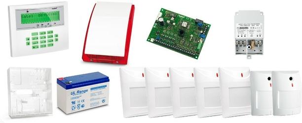 Alarm satel ca-10 lcd, 5xaqua plus, 2xnavy, syg. zew. sp-4001 - szybka dostawa lub możliwość odbioru w 39 miastach