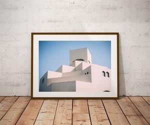 Islamic art - doha - plakat premium wymiar do wyboru: 70x50 cm