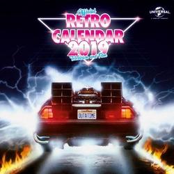 Kalendarz filmowy Retro na 2019 rok