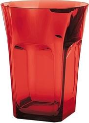 Szklanka belle epoque czerwona